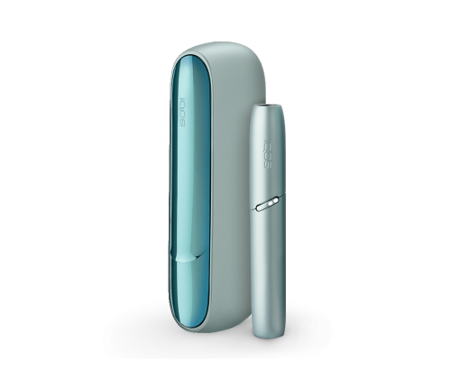 IQOS™ 3 DUO Tobacco Heating System (SILVER BLUE)